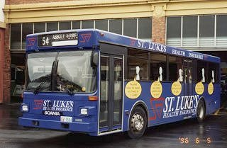 178 in a blue version of the St Lukes campaign.